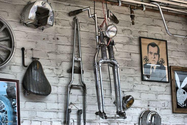 Motorcycle shop / garage