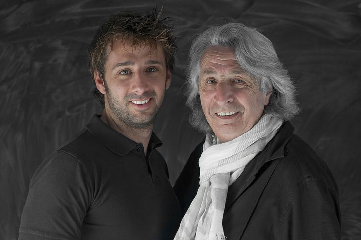 Luca & Luciano Colombo - hairstylists in Milan. Co-Owners of Atelier Luciano Colombo in Corso Magenta, 66, Milano. #hair #beauty #milan #hairstylist #lucianocolombo - Hairstylist Milano