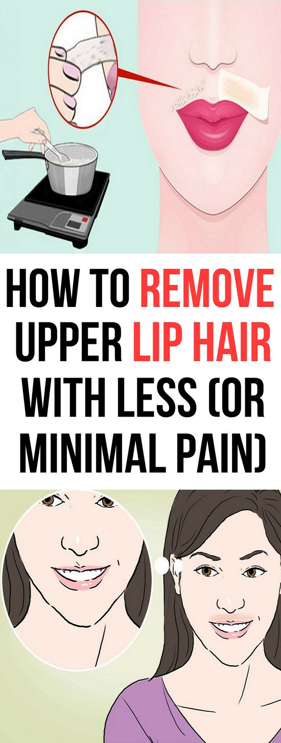 Remove Upper Lip Hair With This Easy and With Less or Minimal Pain Way