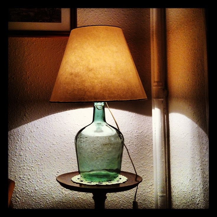 Lampara de botella