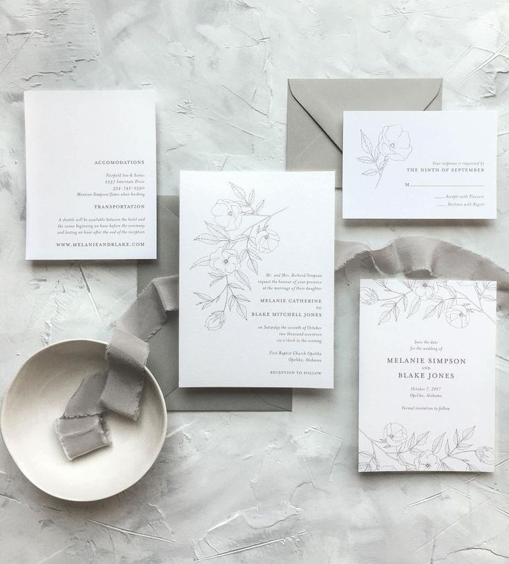 309 best Wedding Stationery images on Pinterest