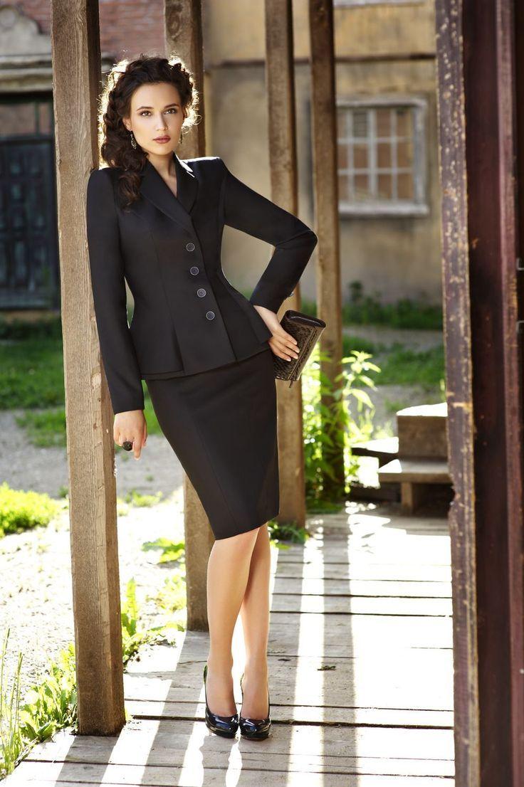 Skirt Suits Trend Fashionactivation Business Attire Women Skirt Suit Fashion [ 1106 x 736 Pixel ]
