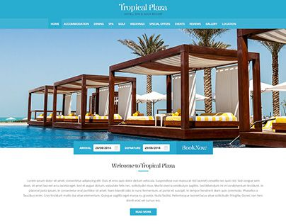 """Check out new work on my @Behance portfolio: """"Tropical Plaza"""" http://be.net/gallery/31744127/Tropical-Plaza"""
