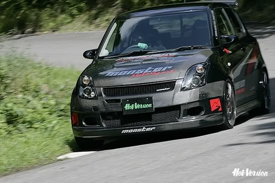 monster sport suzuki swift pinterest swift sports and monsters. Black Bedroom Furniture Sets. Home Design Ideas