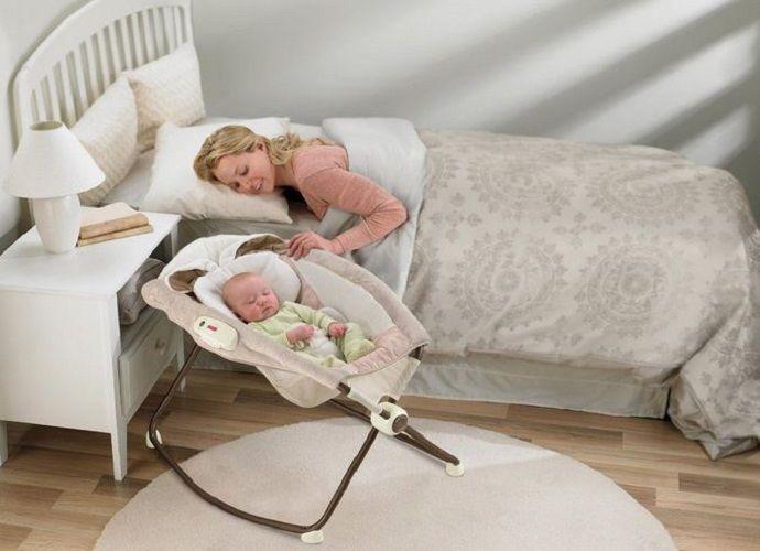 Fisher Price Baby Bassinet Portable Rock N Play Sleeper Cradle Nursery
