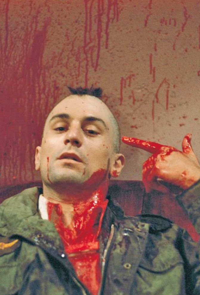 Robert DeNiro in Taxi Driver, a raw glimpse into an often debated upon Personality Disorder. Like and Repin. Thx Noelito Flow. http://www.instagram.com/noelitoflow
