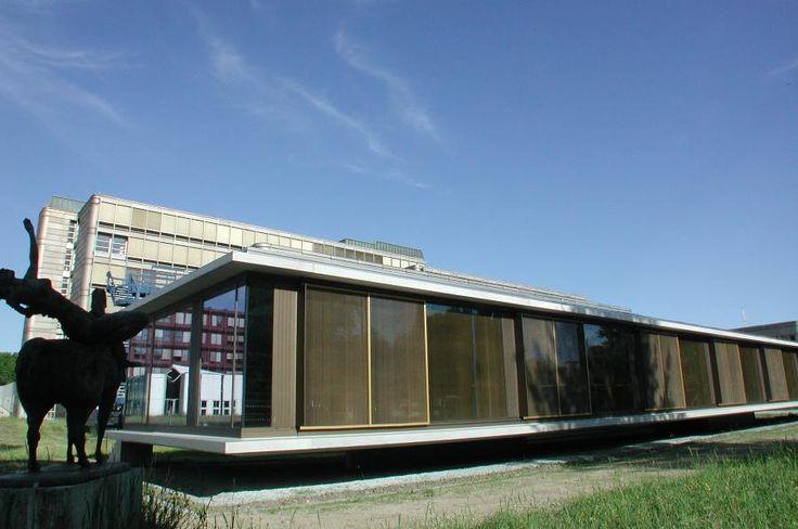 Bibliothèque Fleuret Université de Lausanne by DEVANTHERY&LAMUNIERE, Suisse, 2000