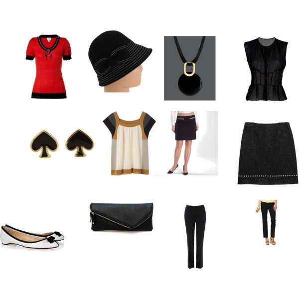 """DW Gamine"" by mwilliamson on Polyvore. Don't like the necklace though."