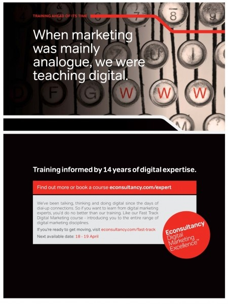 """when marketing was analogue, we were teaching digital"".. So true for us too!!"