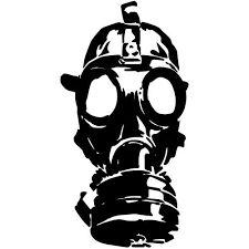 Resultado de imagen para mascara de gas dibujo