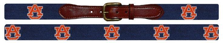Auburn Needlepoint Belt