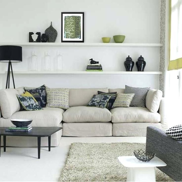 Super Shelves Above Couch , Elegant Shelves Above …