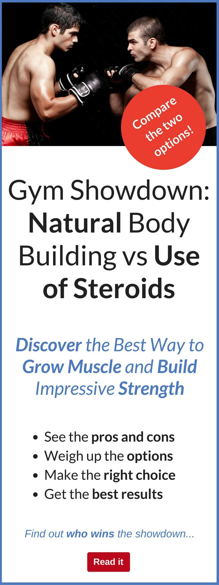 Natural bodybuilding and enhanced bodybuilding are opponents that have staunch advocates on both sides who will tell you in no uncertain terms why their version of bodybuilding is superior. This article gives you the facts about both types of bodybuilding so that you can determine which one best suits your lifestyle.