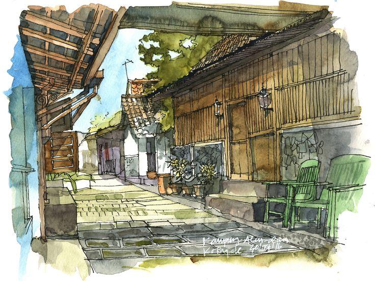 "https://flic.kr/p/QeWiaU | ""Kampung Alun-alun, Kotagede, Yogyakarta, Indonesia"" (2016)"