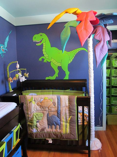 Dinosaurs I Want To Make A Tree Like This T Rex Is Scary And Looks It Wants Eat The Baby Lol Dinosaur Theme Pinterest Nursery