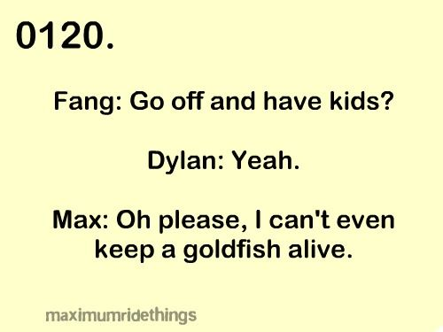 Maximum ride is THE best book ever, yes THG fans, hose are good, but MR is AMAZINGGGGG