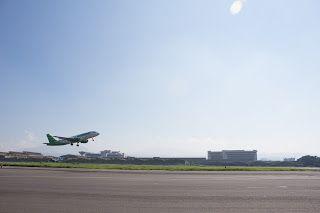 Departure, Husein Sastranegara International Airport, Bandung Jawa Barat - Indonesia