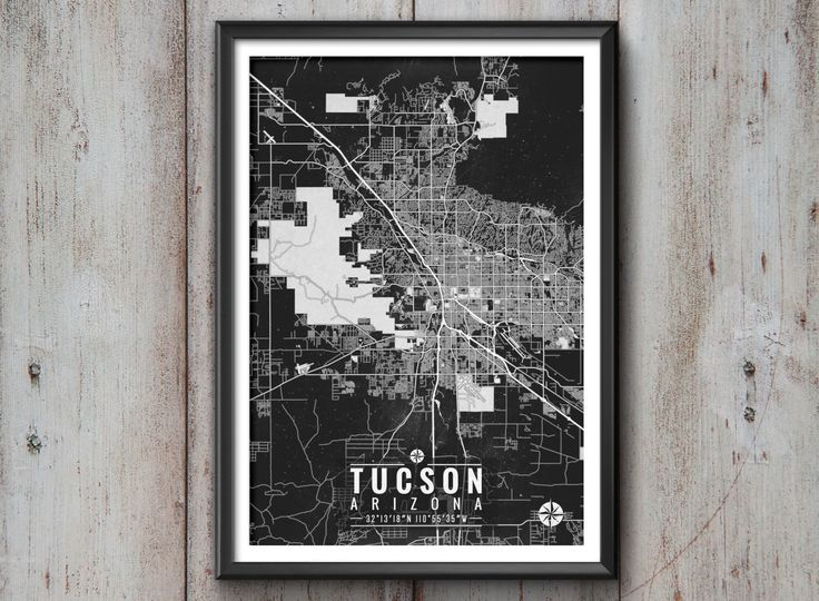 Tucson Arizona Map with Coordinates, Tucson Map, Tucson Wall Art, Map Art, Map Print, Tucson Print, Tucson Art, Tucson Gift, Map, Tucson by IdeateCreateStudio on Etsy https://www.etsy.com/listing/255632086/tucson-arizona-map-with-coordinates