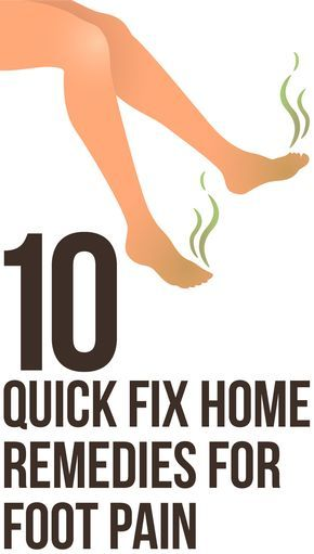Top 10 Quick Fix Home Remedies For Foot Pain