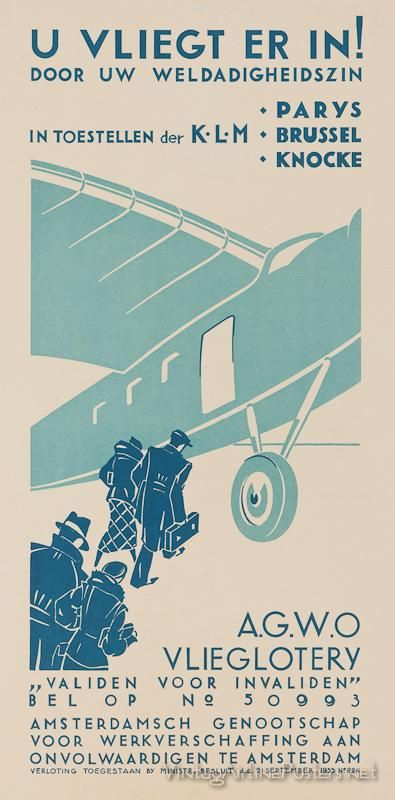 KLM (The Netherlands) #Vintage #Travel