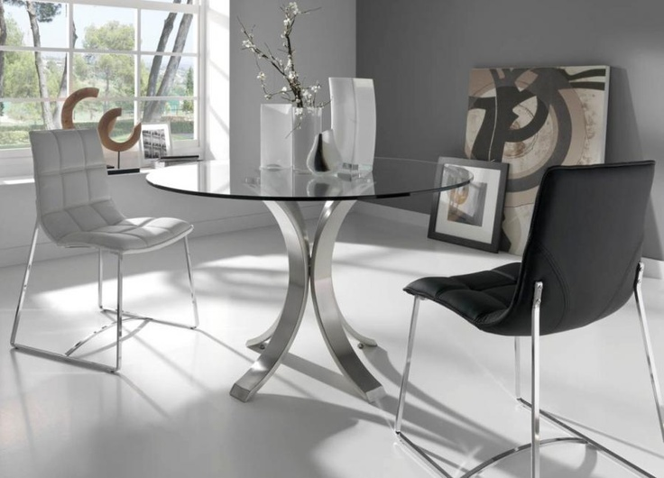 Modern Round Glass Dining Tables