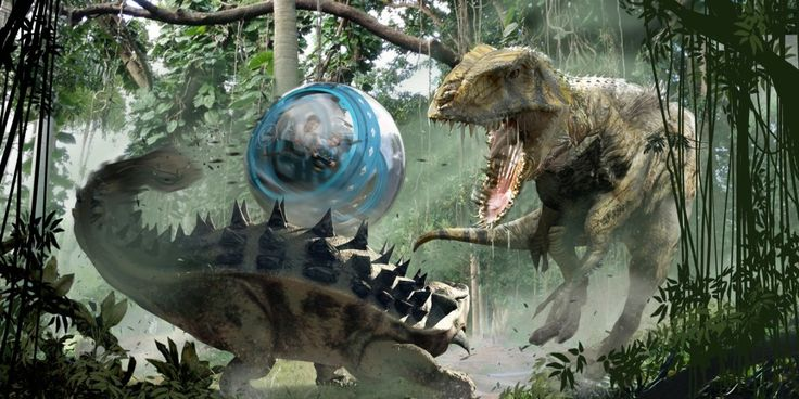 Incredible Jurassic World Concept Art Released