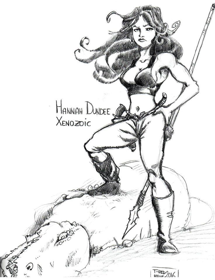 #xenozoictales Hannah Dundee