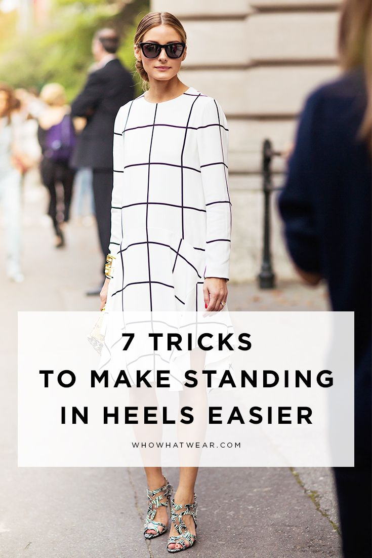7 tricks to help you to stand in heels for 8 hours– pain free!