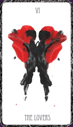 The Hidden Waters Tarot Delves Into Subconscious With 78 Cards Based Upon Rorschach Inkblot
