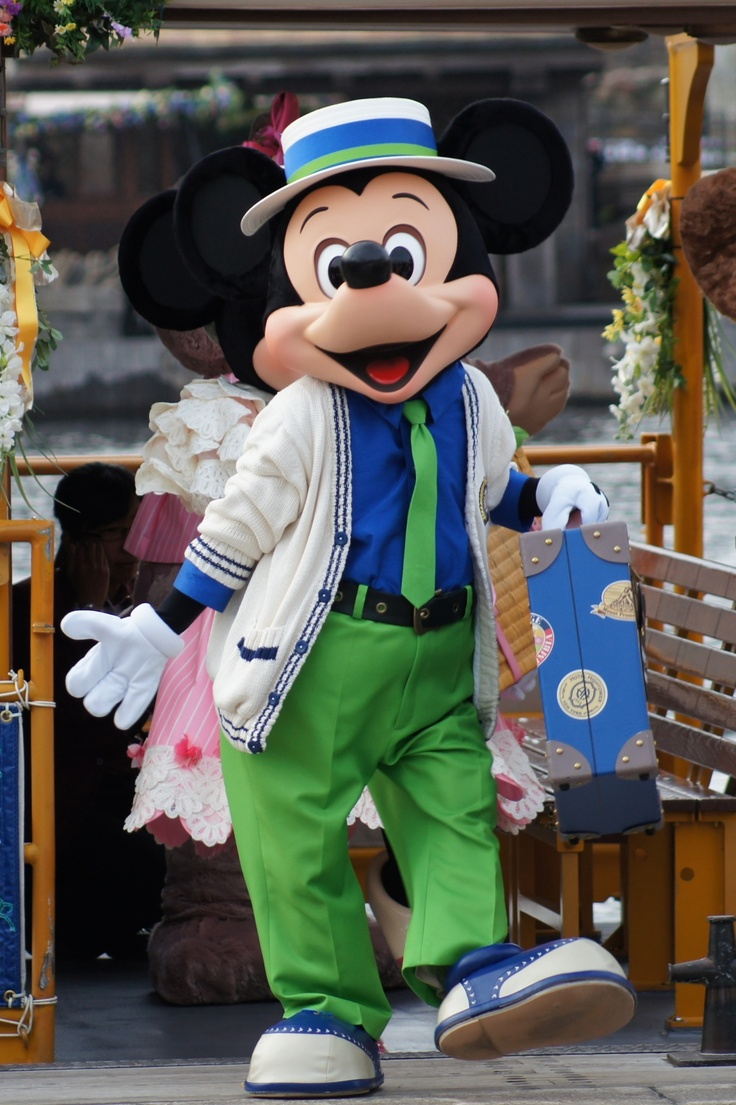 Mickey is so cute in any attire