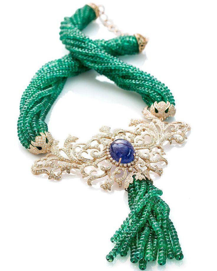 """CHRISTOPHIJEWELLERY 1 More day to go#Christophi jewellery#farahkhan #jewelleryArabia 2015"""
