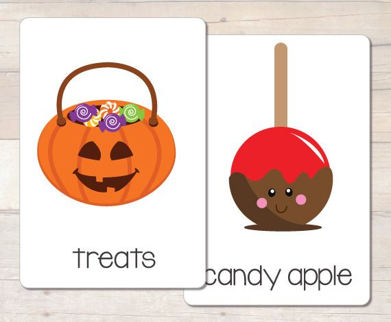busy little bugs 36 halloween flash vocabulary cards great for halloween word wall find this pin and more on file folder games - Halloween File Folder Games