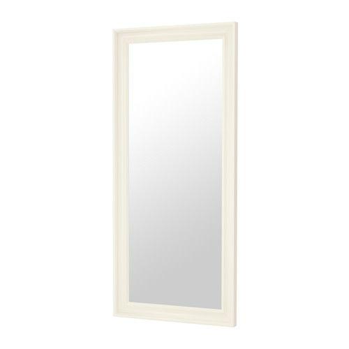HEMNES Spiegel, weiß weiß 74x165 cm