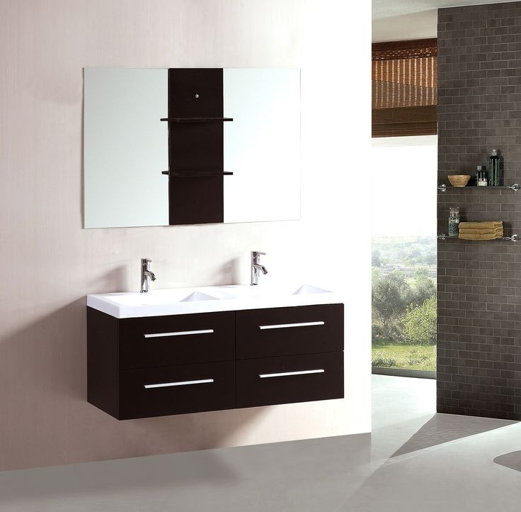 17 best ideas about floating bathroom vanities on pinterest floating cabinets master bath and. Black Bedroom Furniture Sets. Home Design Ideas