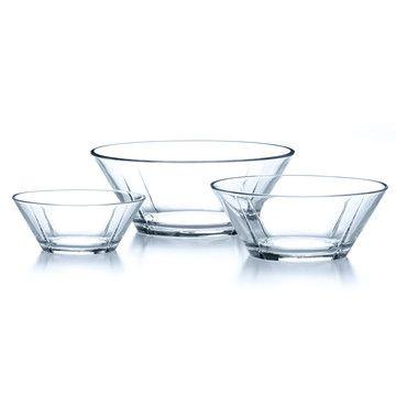 Rosendahl: Glass Bowls Set Of 3, at 6% off!