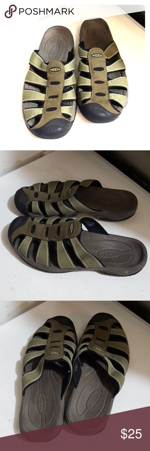 Keen men's slip-on sandals size 10.5 Synonyms for fond sandals size 10.5 they are in a very good condition. They're waterproof. I'm selling them at an excellent price so get them today! Keen Shoes Sandals & Flip-Flops