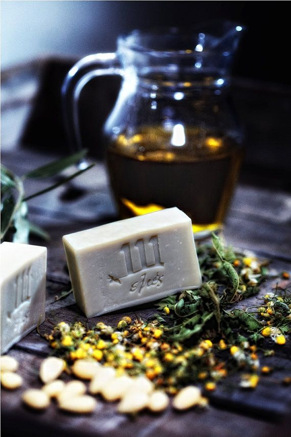 Verbena and Chamomile 100 natural soap for facebody by 111elies