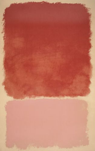 Untitled (Red over Pink), 1968  For those soft dusty pink interiors..