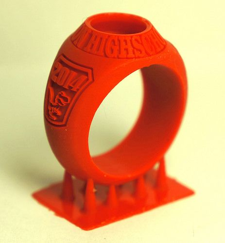 Graduation Ring In 2019 3d Printer Designs Arts Crafts