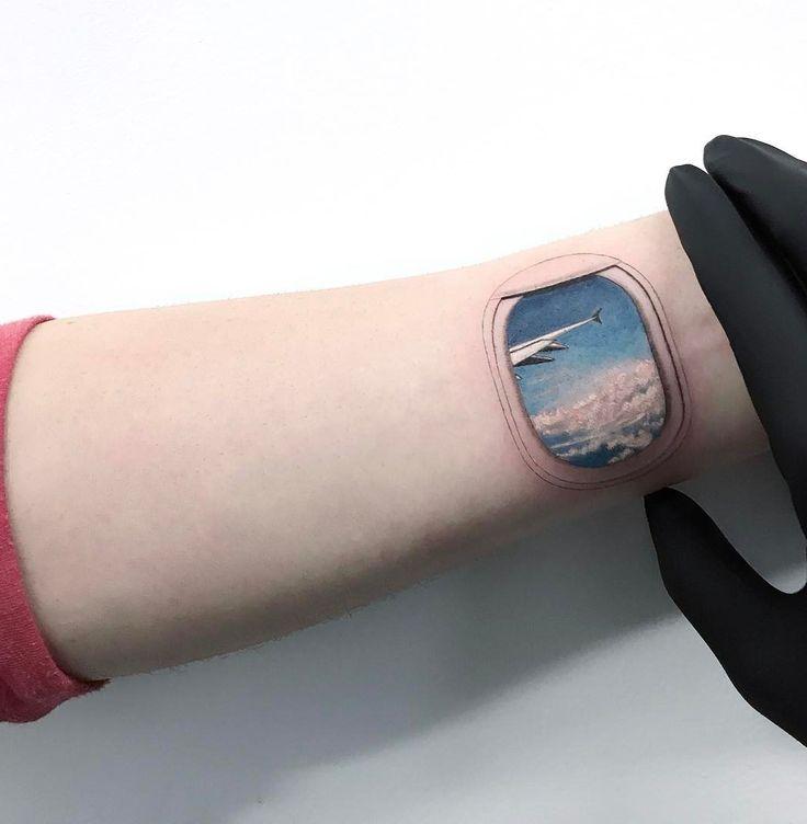 Airplane Window | Best tattoo ideas & designs