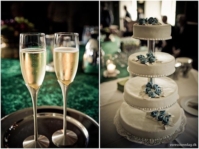 Bryllup detaljer på Lykkesholm Slot www.voresstoredag.dk