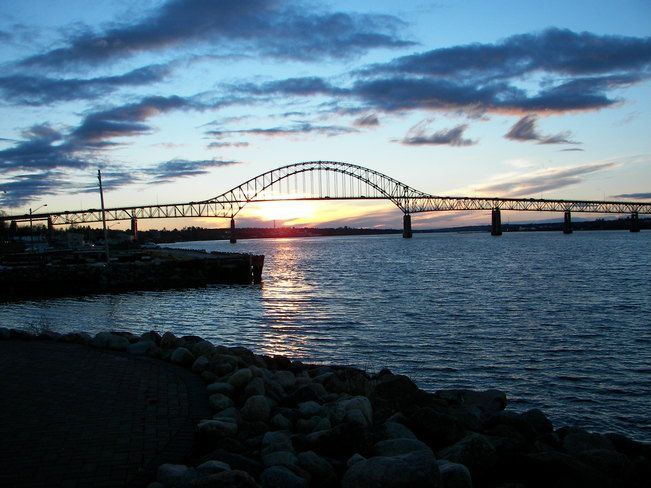 Centennial Bridge, Miramichi, NB (where I live!)