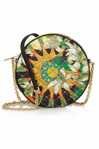 Dolce & Gabbana Miss Glam quilted silk shoulder bag