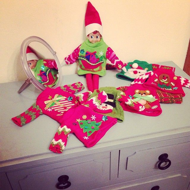 17 best images about elf on the shelf ideas on pinterest for Elf shelf craft show