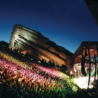 See a concert at Red Rocks Amphitheater, Colorado. The Perfect Concert Location!