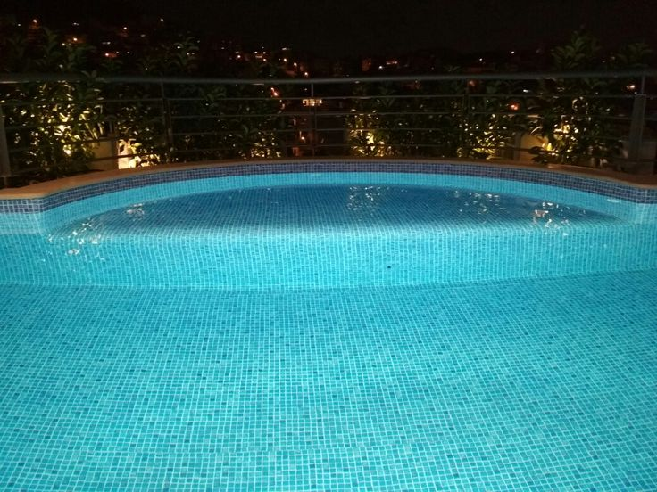 Athens roof pool - Greece