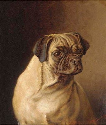 Horatio Henry Couldery (1832–1893) - A Pug | Pug & Boston ...