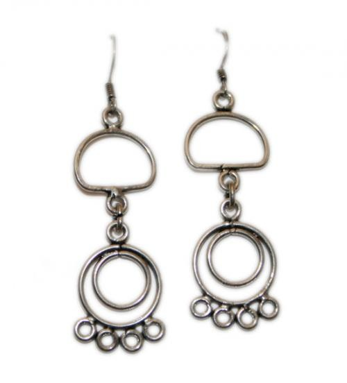 Wholesale Silver Earrings  http://www.legendartbeads.com/product/collection-2012/animals-silver-earrings