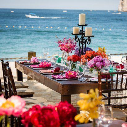A colorful destination wedding in Cabo San Lucas Mexico {Dino Gomez}