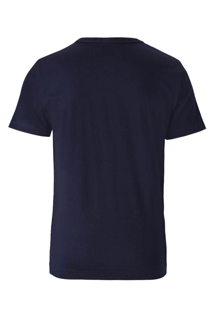 LOGOSHIRT T-Shirt 'R2-D2 – Krieg der Sterne – Star Wars R2D2' Herren, Nachtblau / Rot / Weiß, Größe L